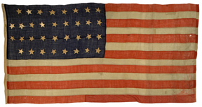 antique American flag