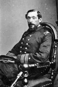 portrait of Civil War naval officer