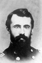 headshot of Civil War soldier