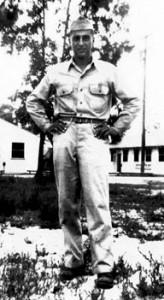 soldier in World War II uniform
