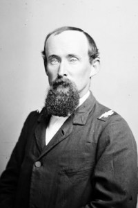 portrait of Civil War officer