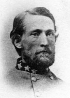 portrait of Civil War Confederate officer