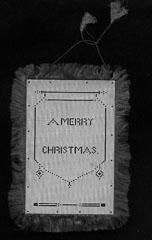 Silk Greeting Card 1860