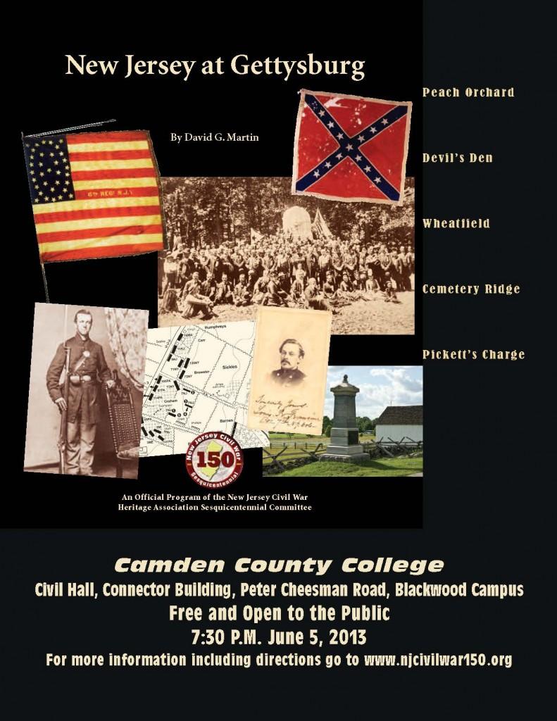 New Jersey at Gettysburg Camden flyer