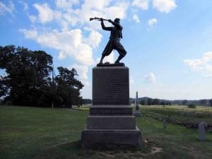 72nd P.V. Monument at gettysburg