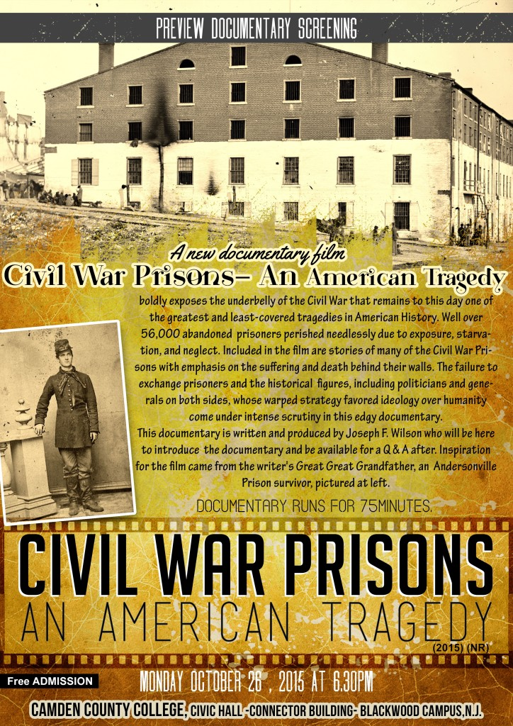 Civil War Prisons movie
