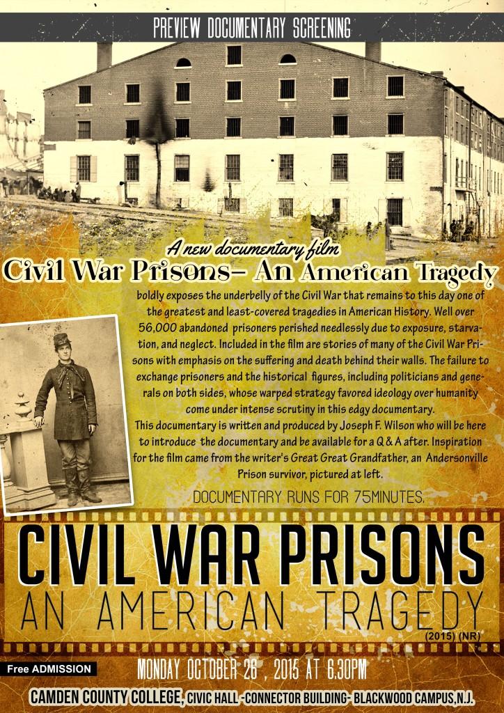 Civil War Prisons movie