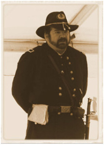 Robert E. Hanrahan, Jr. (portraying Major General John Gibbon)