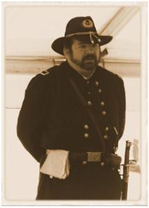 Robert E. Hanrahan, Jr. (portraying Major General John Gibbon)